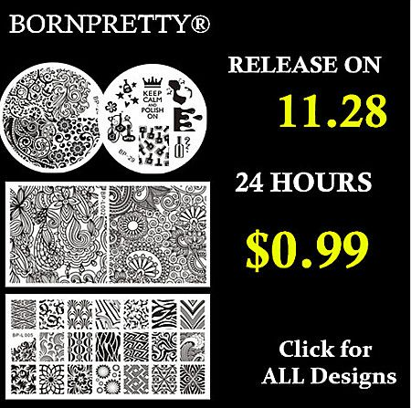 More new stamping plates!! Use my code ANGELIQUEC10 for 10% off @http://www.bornprettystore.com/born-pretty-stamping-plates-c-268_94_652.html