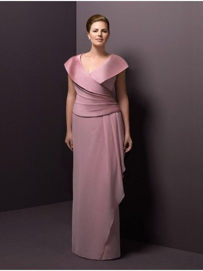 Mother of Bride Dress Plus Size Follow Mary Buffington ...