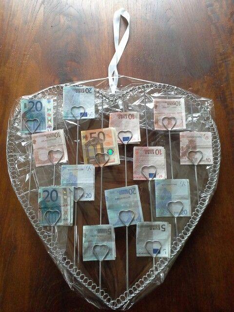 Bruiloft Collega 2013 Geld Cadeau Geven Ideeen Voor