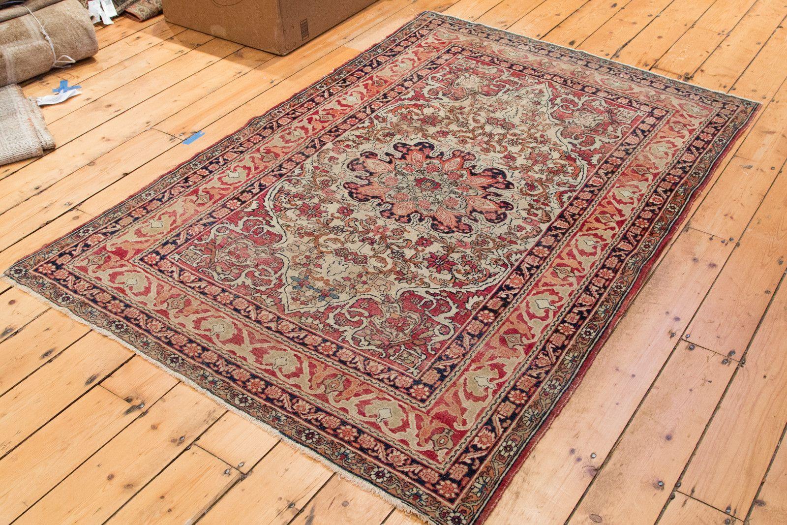 4x6 Antique Kerman Area Rug Area Rugs 4x6 Area Rugs Rugs