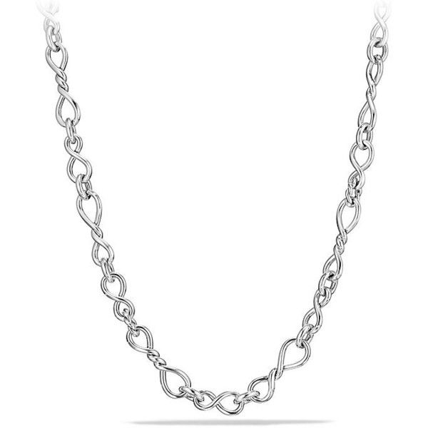 David Yurman Continuance Medium Chain Necklace ($950) ❤ liked on Polyvore featuring jewelry, necklaces, david yurman jewelry, chains jewelry, chain necklaces, david yurman and clasp necklace