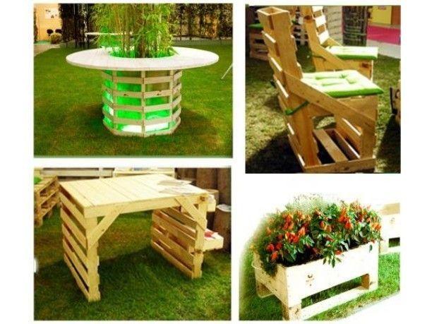 arredamento giardino fai da te   giardino   pinterest   giardino ... - Idee Arredamento Riciclato