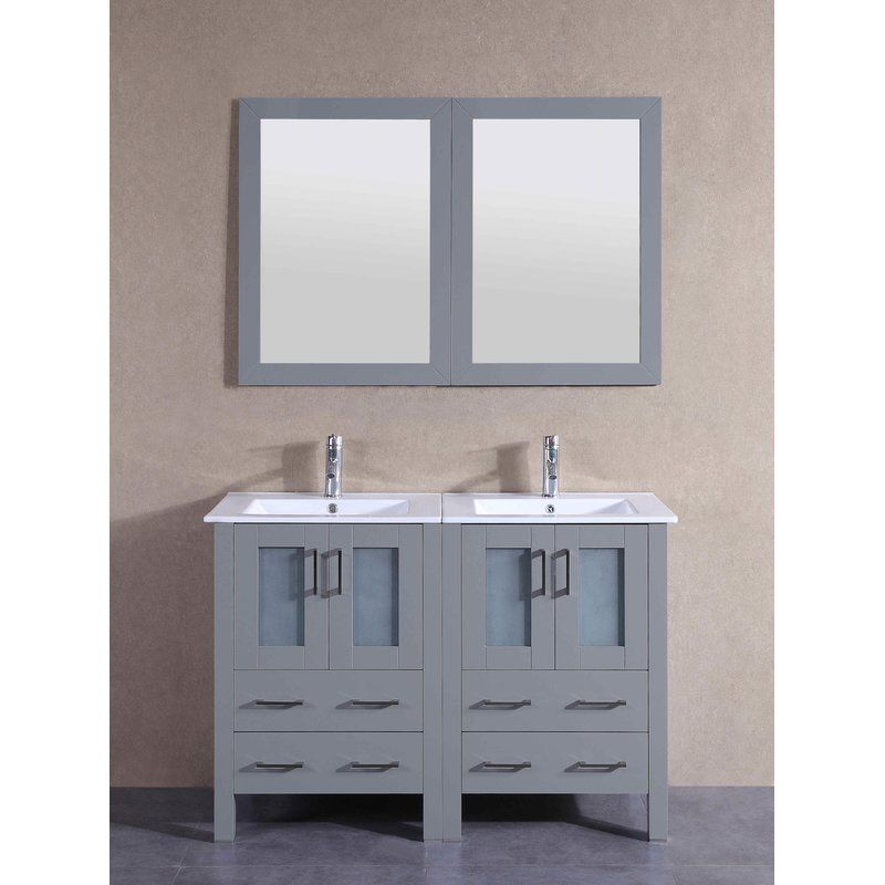 Explore A Classically Modern Touch With This Gray Bosconi Double