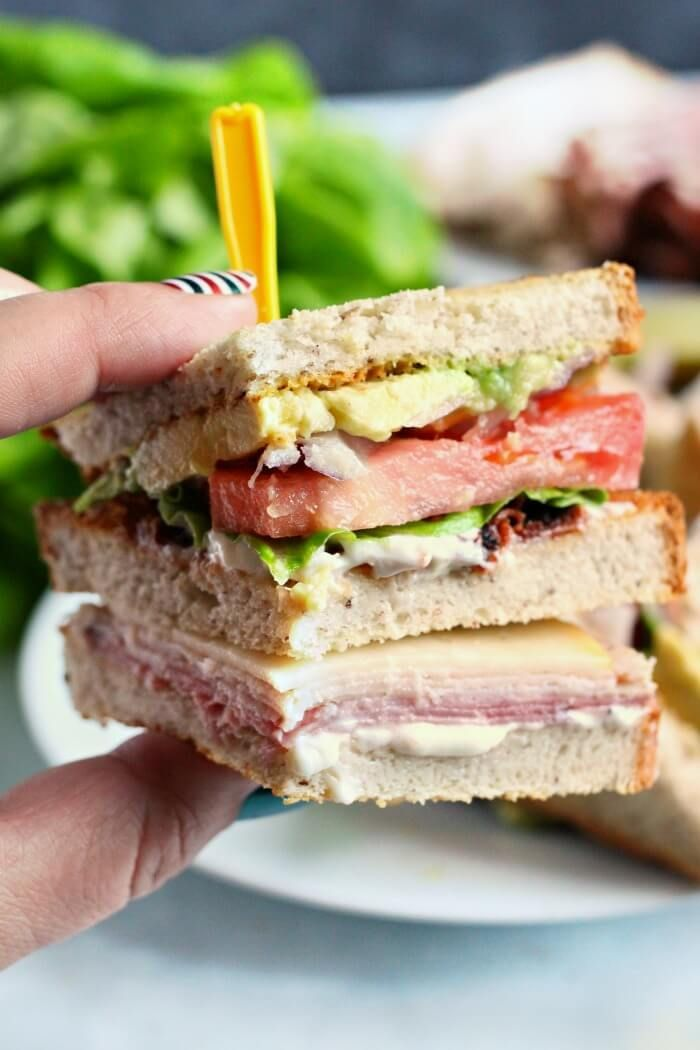 CLUB SANDWICH - Our Club Sandwich is easy to make, delicious and filling.  You'll love this club sandwich for any meal of the day!