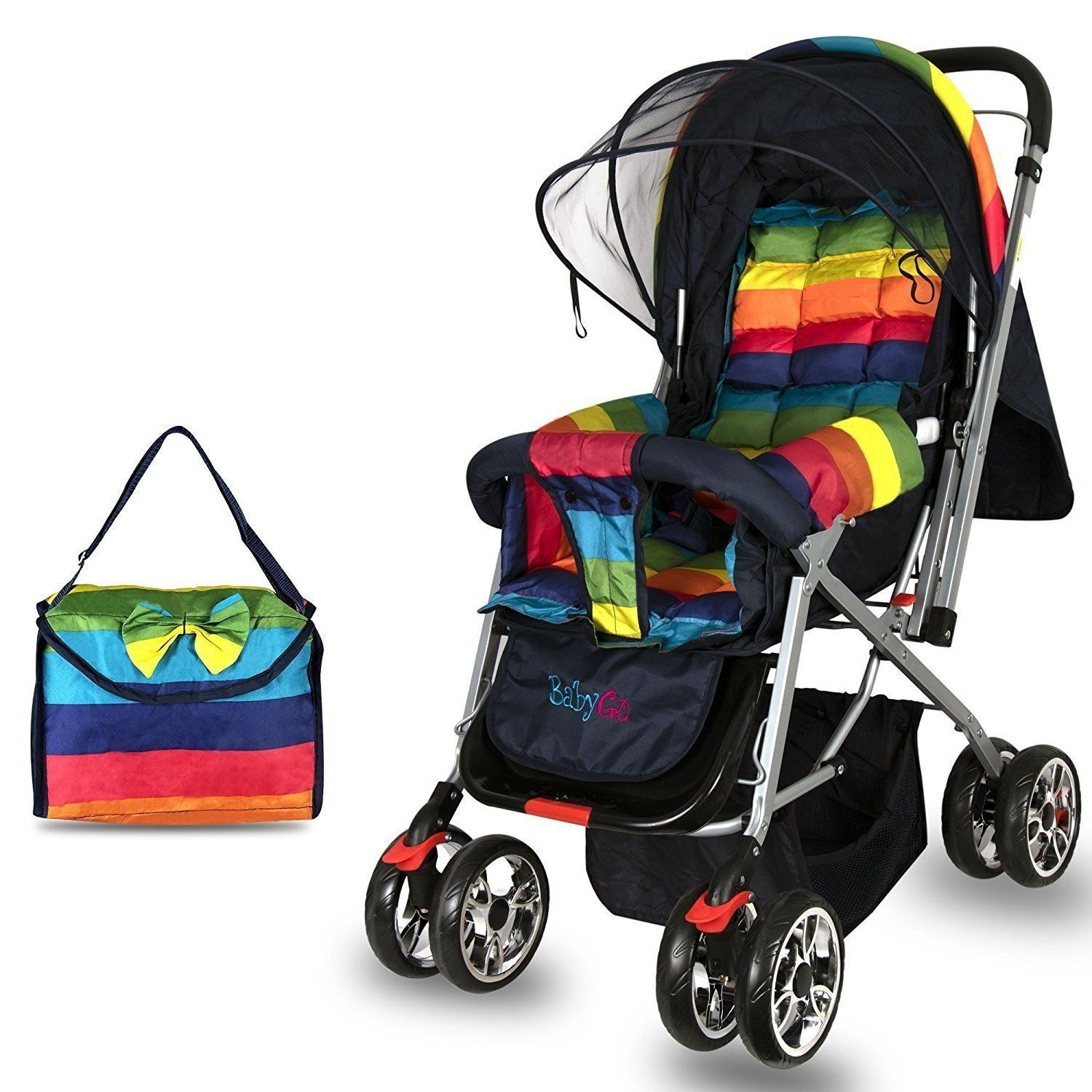 Babygo light Reversible Baby Stroller and Pram with
