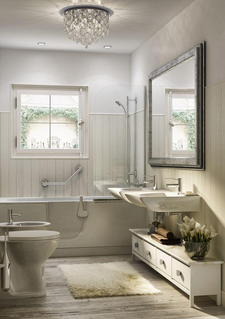 Exterior Home Remodeling Ideas | Chic bathrooms, Bathtub ...