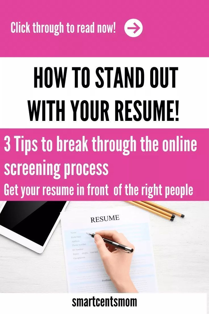 How to get your resume past the screening process