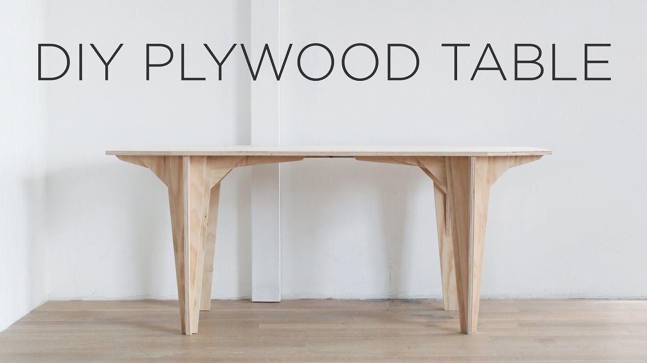DIY // Plywood Table