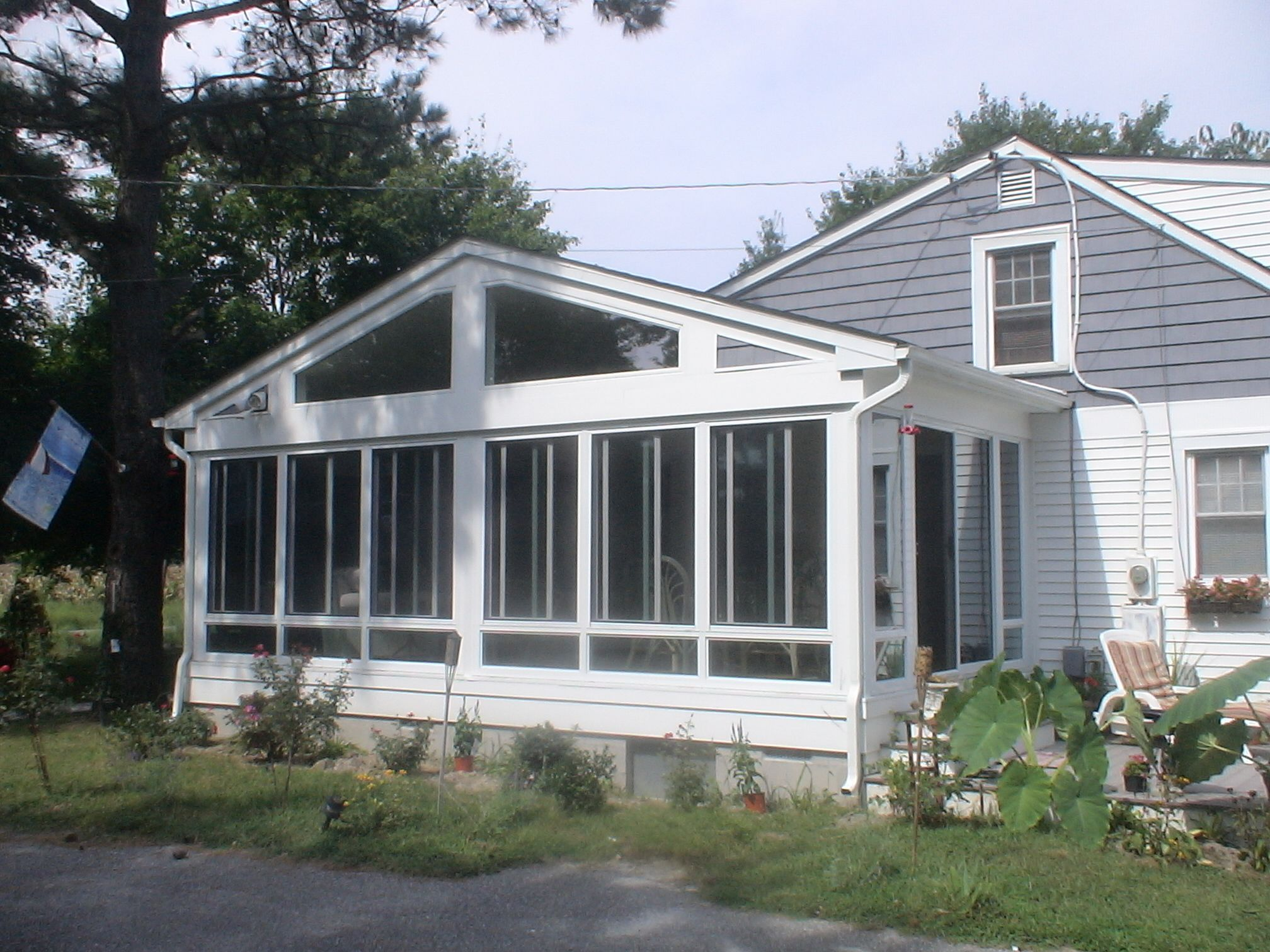 Sunroom addition designs house addition in millville de for House sunroom
