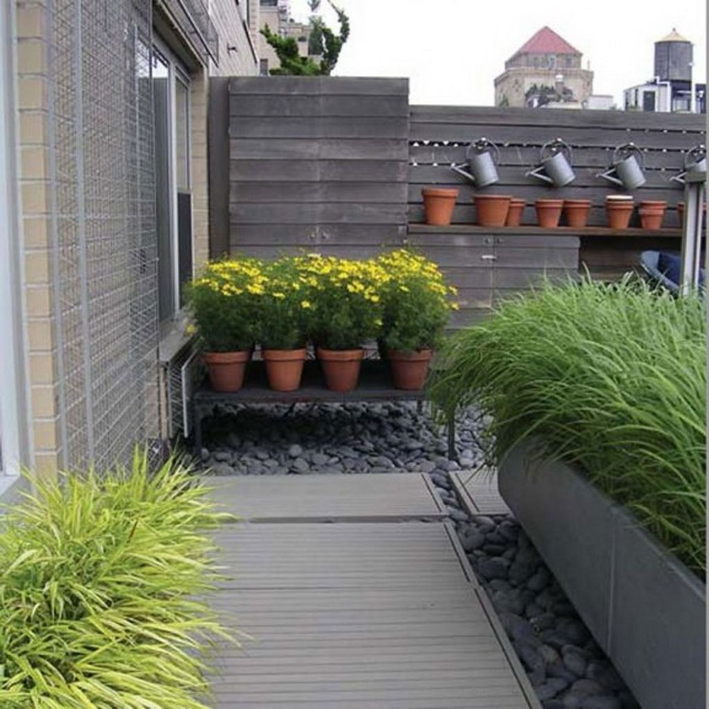 Rooftop garden nyc greenwich penthouse new york with for Small terrace garden ideas