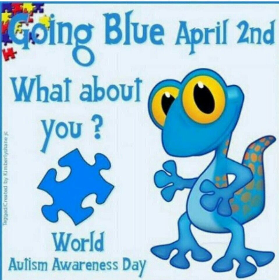 Good morning, Col'e supports autismawareness how about
