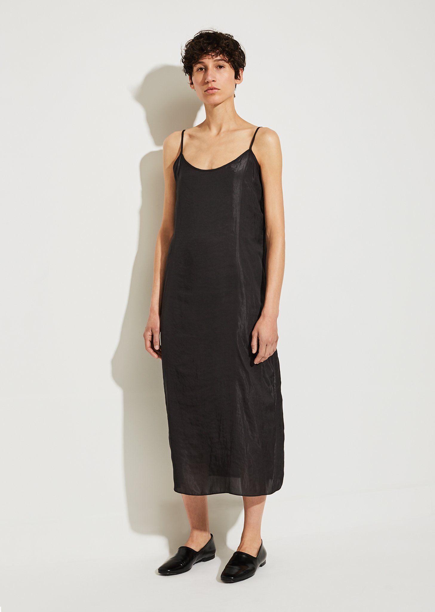 Black Portrait Long Slip Dress Moderne 6n04FQig