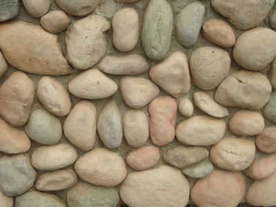 How To Build A River Rock Wall With Mortar