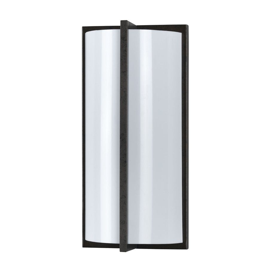 Axis 15 1 In W Light Rust Corner Wall Sconce