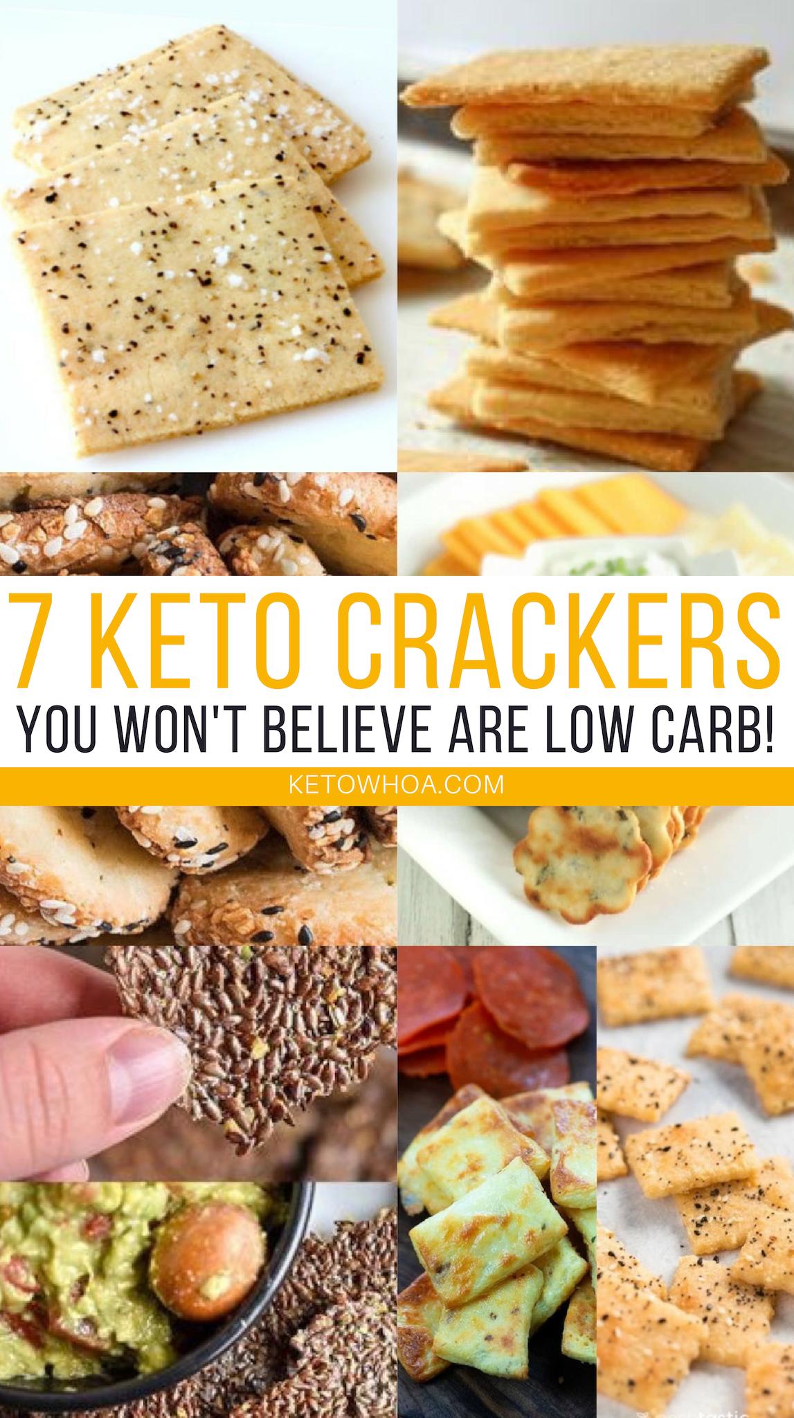 7 Best Low Carb Keto Cracker Recipes That Ll Revolutionize Snack Time Keto Whoa Keto Crackers Recipe Low Carb Keto Vegan Keto Diet
