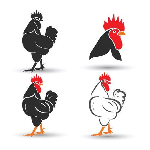 Creative chicken logos vector design 03 - https://www ...