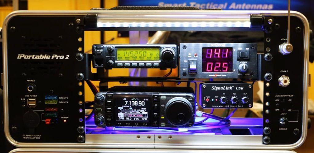 iPortable Pro2 Equipment Rack Systems | QRZ Now – Amateur Radio News