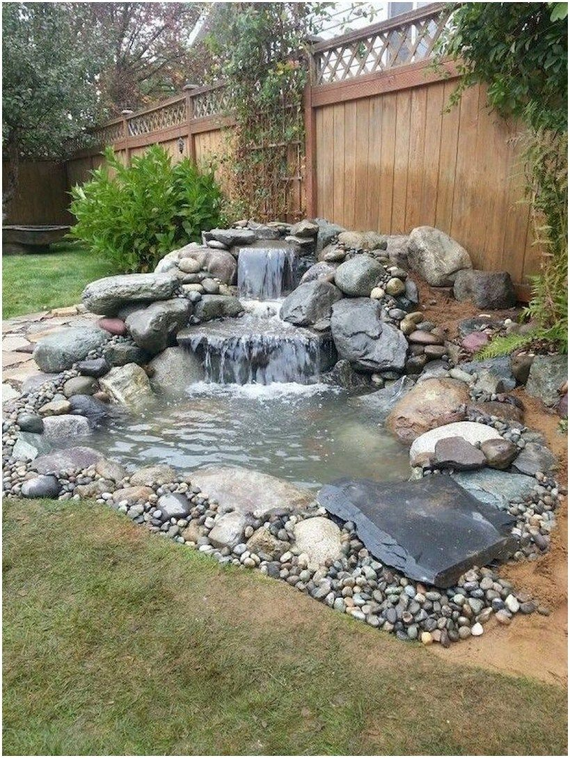 34 Stunning Front Yard Path Walkway Ideas 15 Home And Garden Waterfalls Backyard Garden Pond Design Rock Garden Design