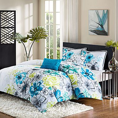 Jcp Intelligent Design Olivia Floral Comforter Set Home Ideas