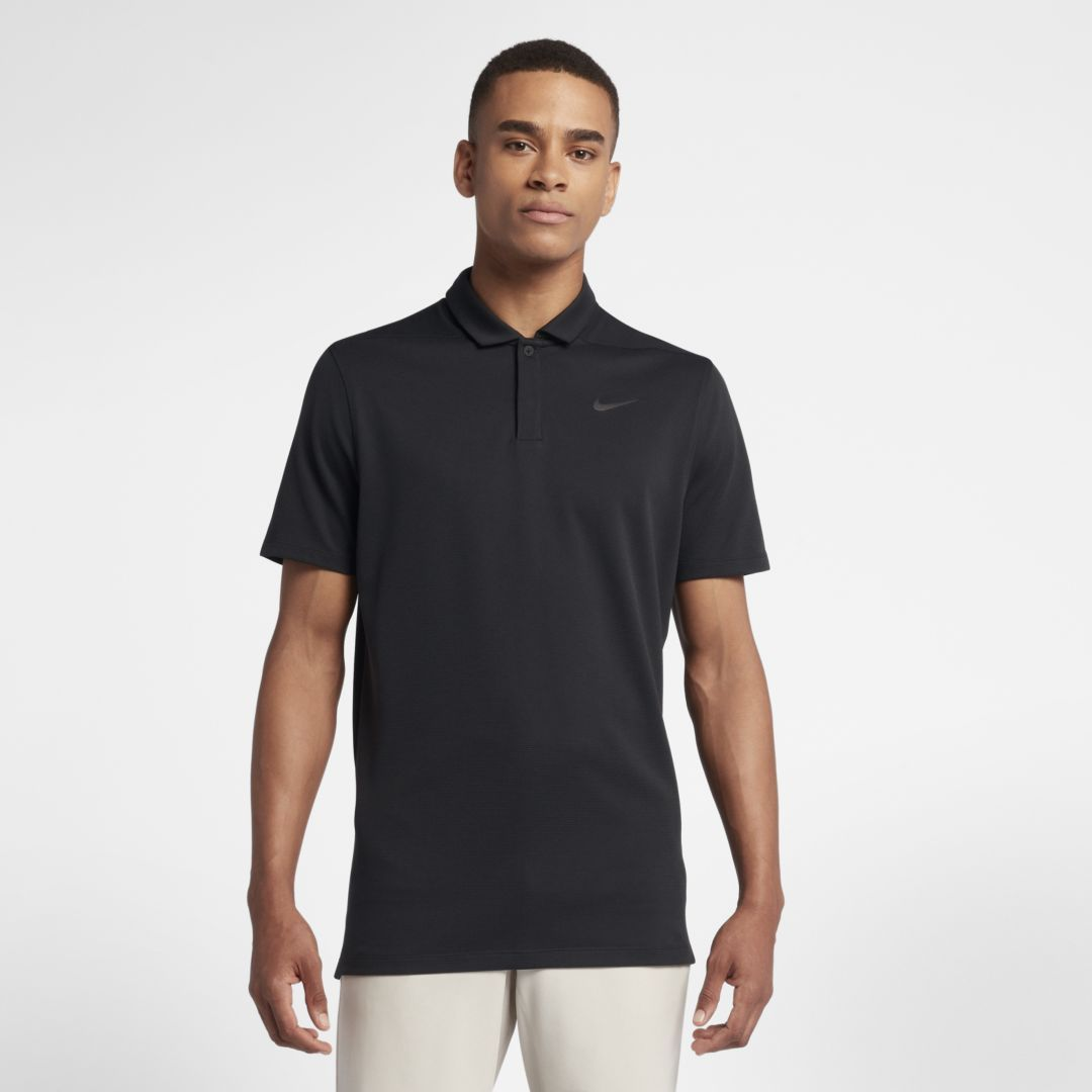 15d5dad7 Nike AeroReact Victory Men's Golf Polo Size 2XL (Black) | Products ...