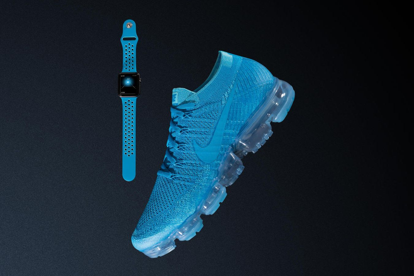Cargado eficiencia haz  These Nike x Apple Watch Bands Perfectly Match the Air VaporMax