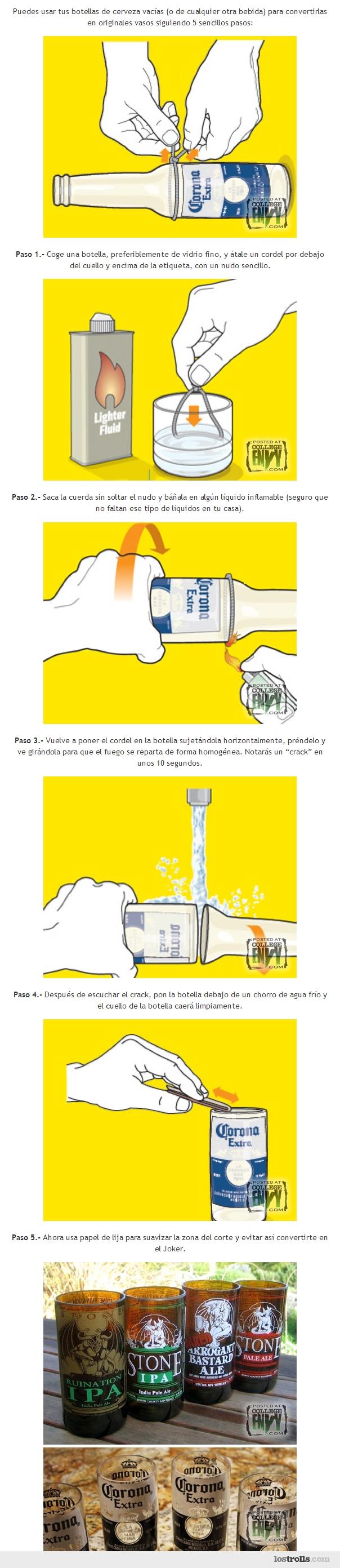 vaso botella