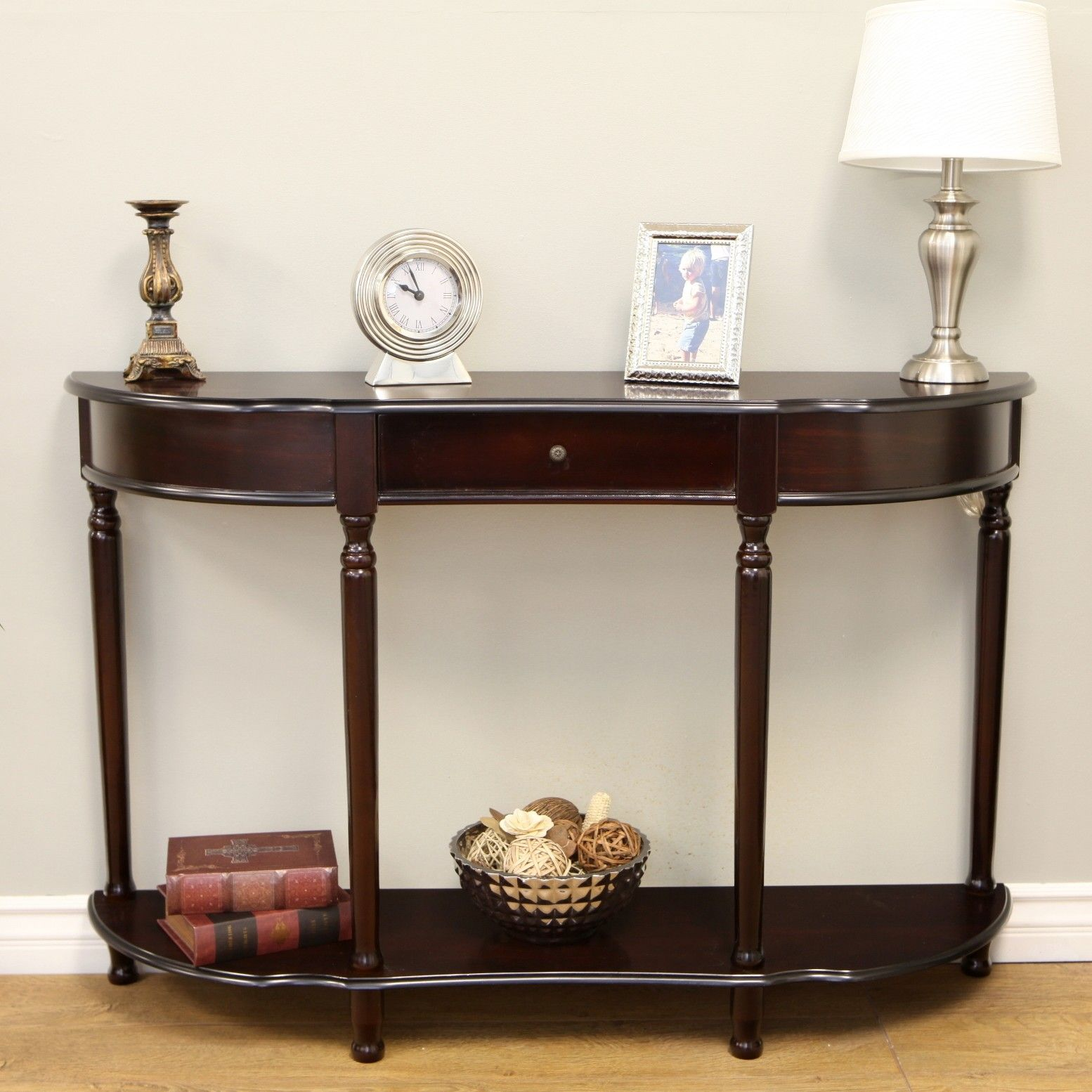 Mega Home Console Table With Turned Legs Reviews Wayfair 31 47 W 12 D