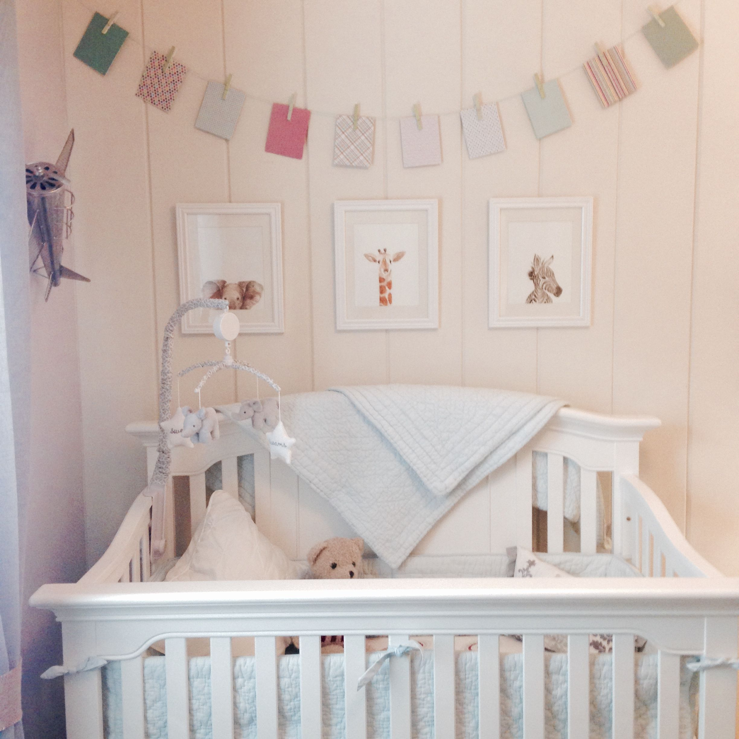 My Sons Nursery Was Made Complete By These Lovely Watercolor