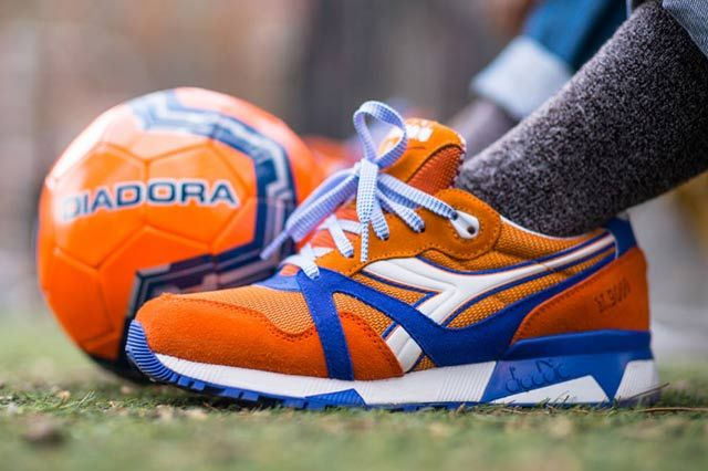 Packer Shoes X Diadora N9000 Dinamo Zagreb Sneaker Freaker Diadora Sneakers Shoes