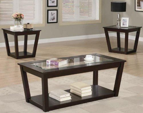 Best 3Pc Occasional Set Coaster 701506 By Coaster Home 400 x 300