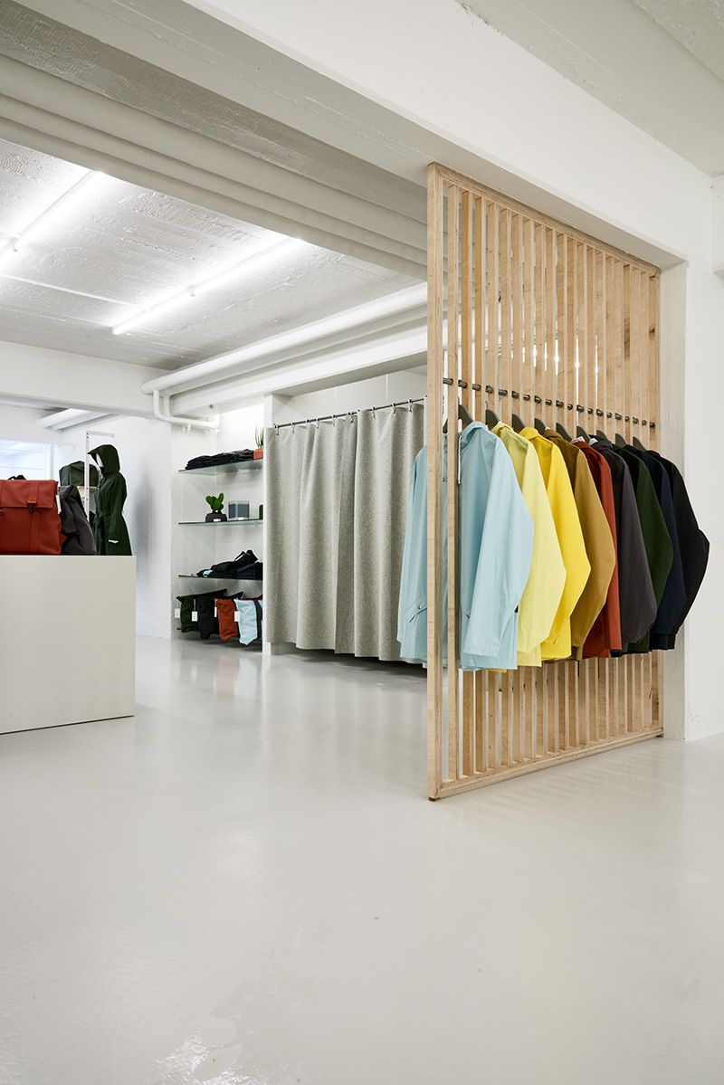 RAINS Has Opened The Doors To The First Concept Store Of Its Kind In The  Hometown Of Aarhus, Denmark. With Its 170 Square Meters, The Two Story Store  ...