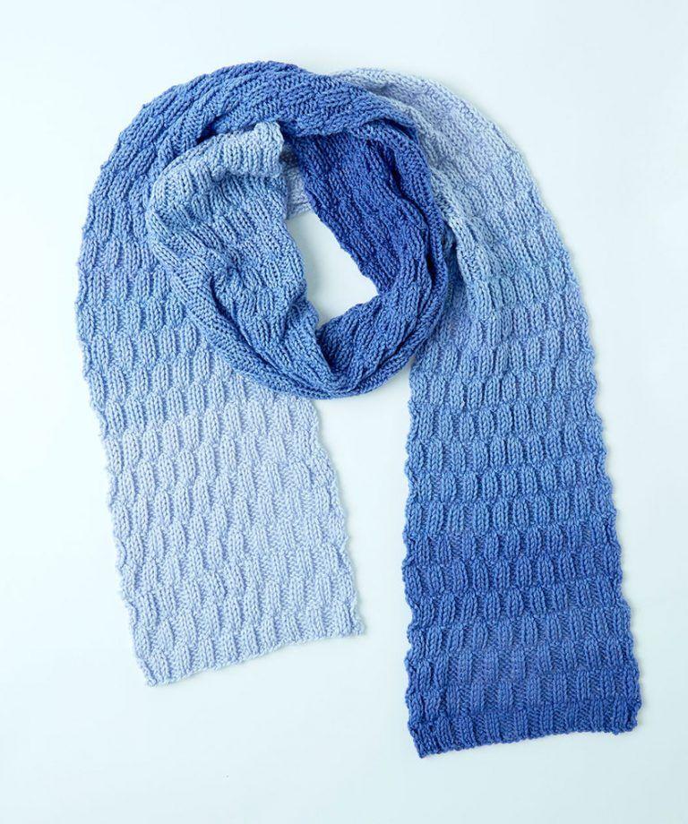 Basketweave Knit Scarf Free Knitting Pattern | Knitting ...