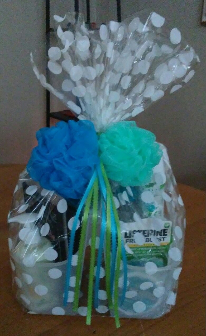I made this for my son\'s girlfriend as a graduation gift. Shower ...