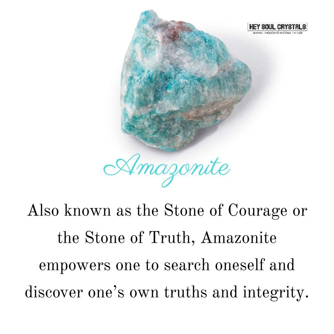 Amazonite Stone Meaning Crystalmeanings Crystal Meanings And