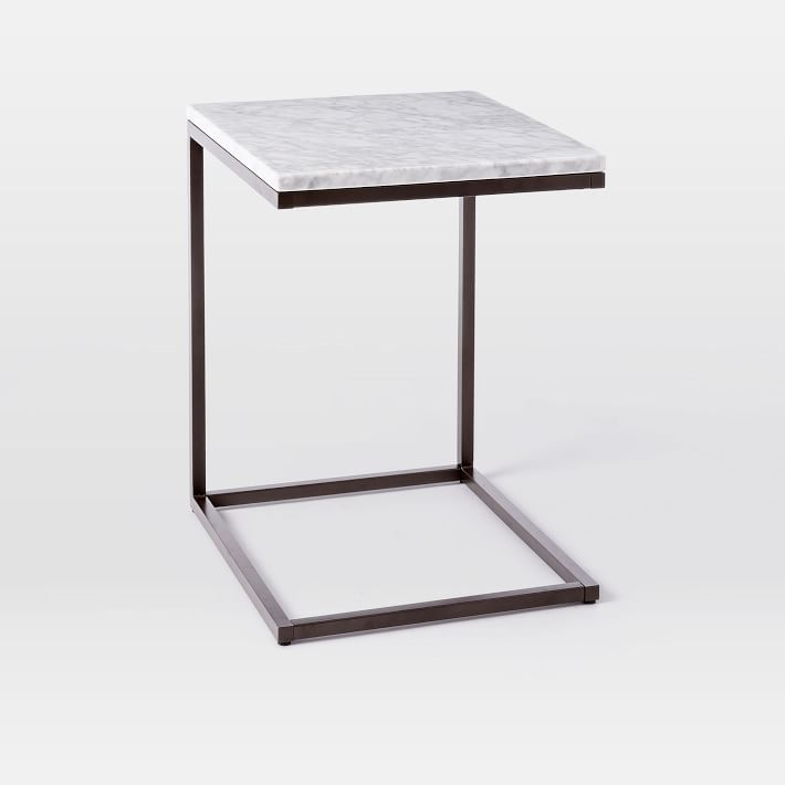 Box Frame C Side Table Marble
