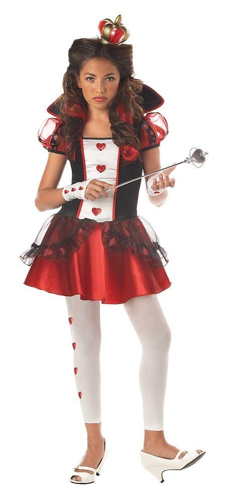 Queen of Hearts Teen Costume Girls Halloween Costumes Canada - halloween teen costume ideas