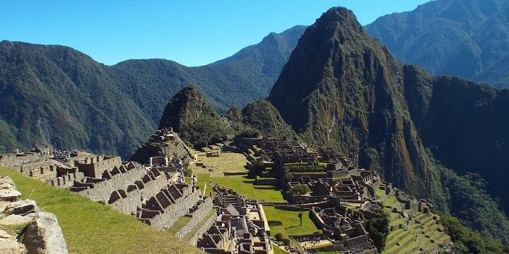 Machu Picchu, Peruvian Highlands, Peru, South America