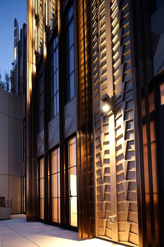 Discovering light report walker tower new york usa architectural lighting designfacade