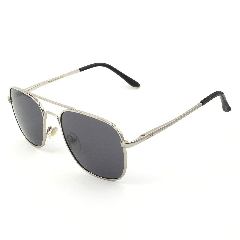 Js premium military style classic aviator sunglasses