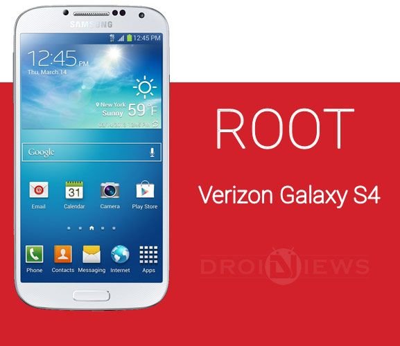Root Verizon Galaxy S4 SCHI545 on NG6 and NK1 Firmware