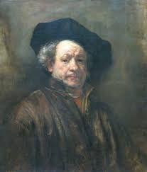 「rembrandt van rijn self portrait」の画像検索結果