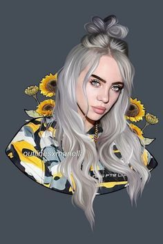 Love this Billie Eilish edit? There's more of where this came from on #PicsArt! Tap the link 😍😍😍 Edit by @celebrities_club