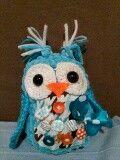 Crocher owl toy