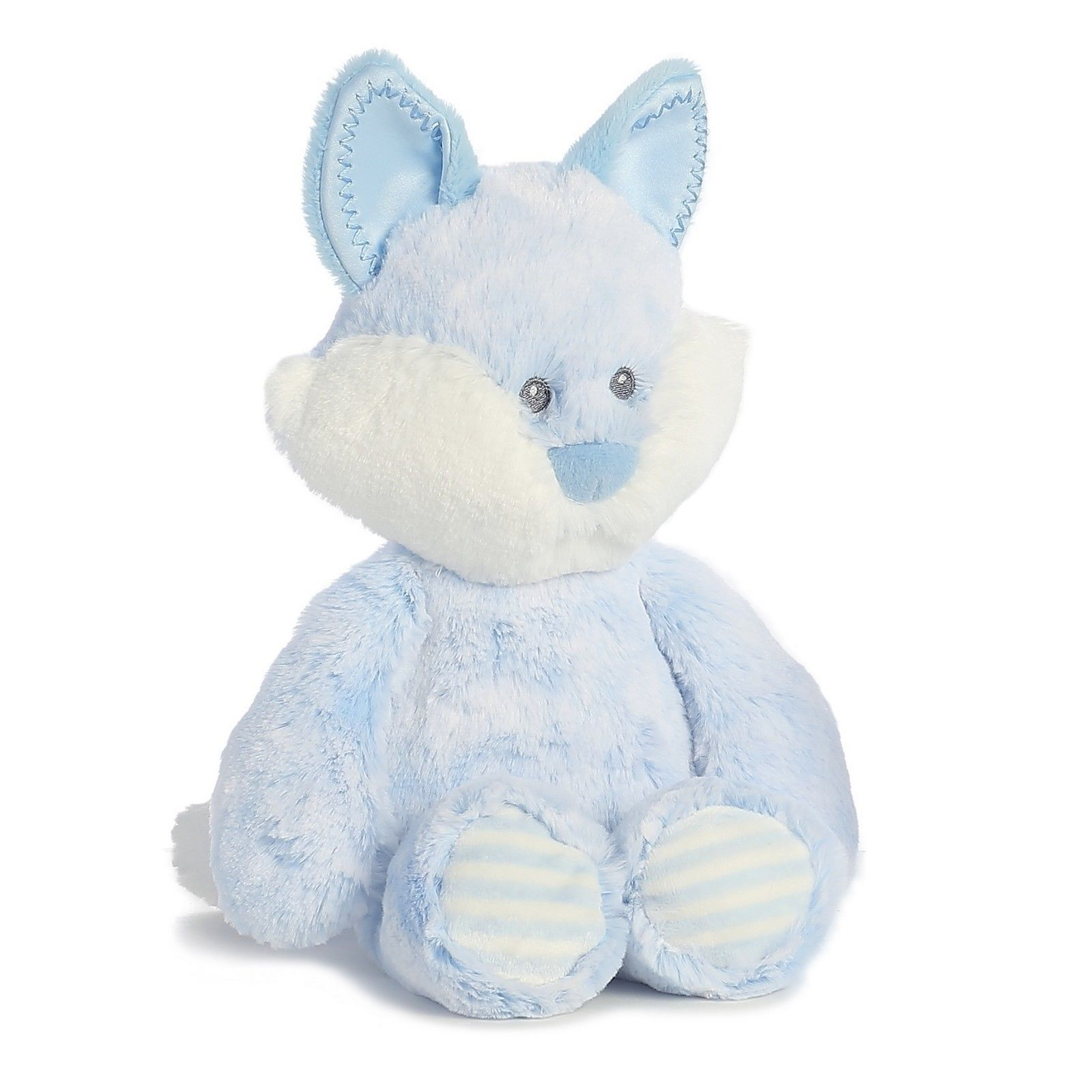 "Huggie Baby Fox Blue 11"" for Baby by Aurora 20823"