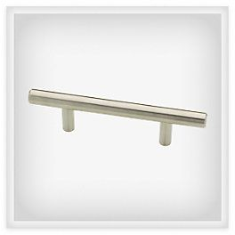 """3  Bar Pull - Liberty Hardware offers this pull from 3"""" to 25"""""""