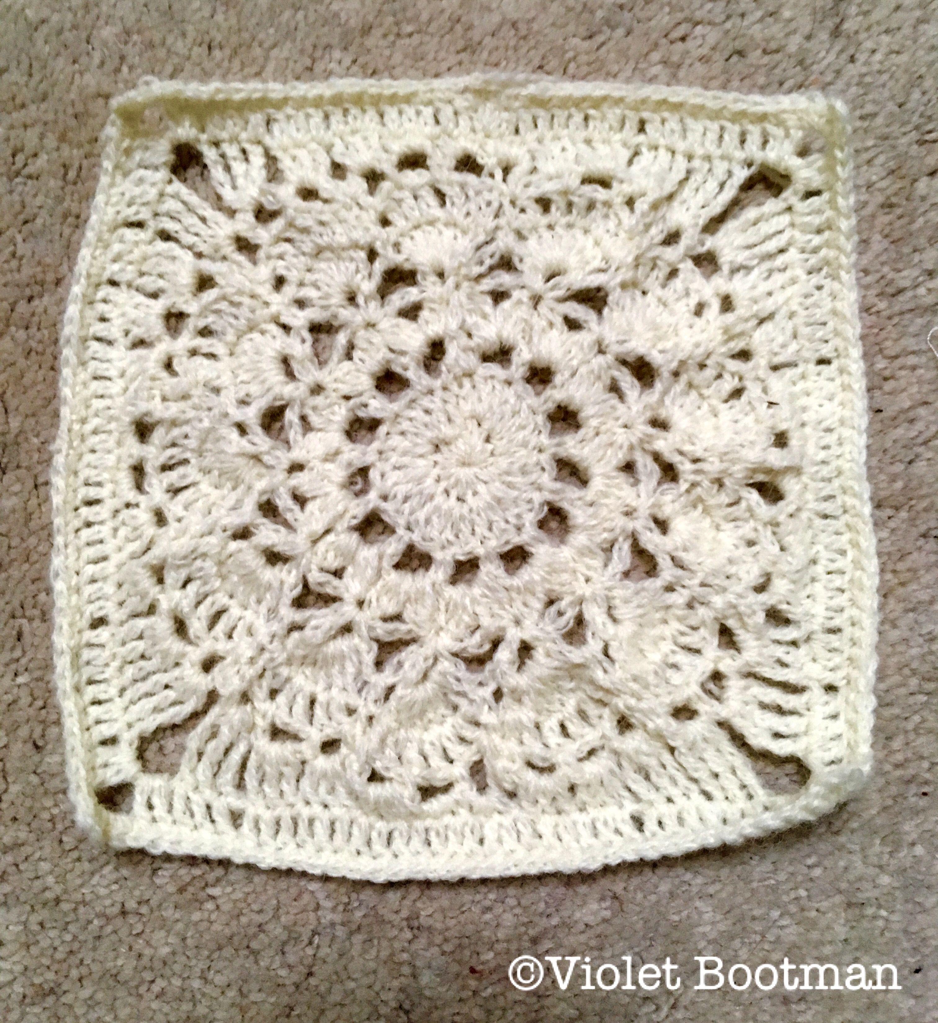 Granny square, lace crochet.   Patrones   Pinterest   Patrones