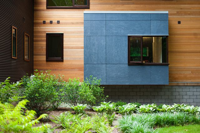 Pigeon Creek Residence   Modern   Exterior   Grand Rapids   Lucid  Architecture Part 33