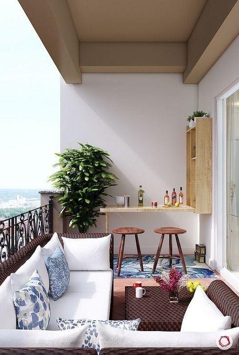 Photo of 50 tolle kleine Balkon-Ideen, damit Ihre Wohnung großartig aussieht #balcony 50 Awe …