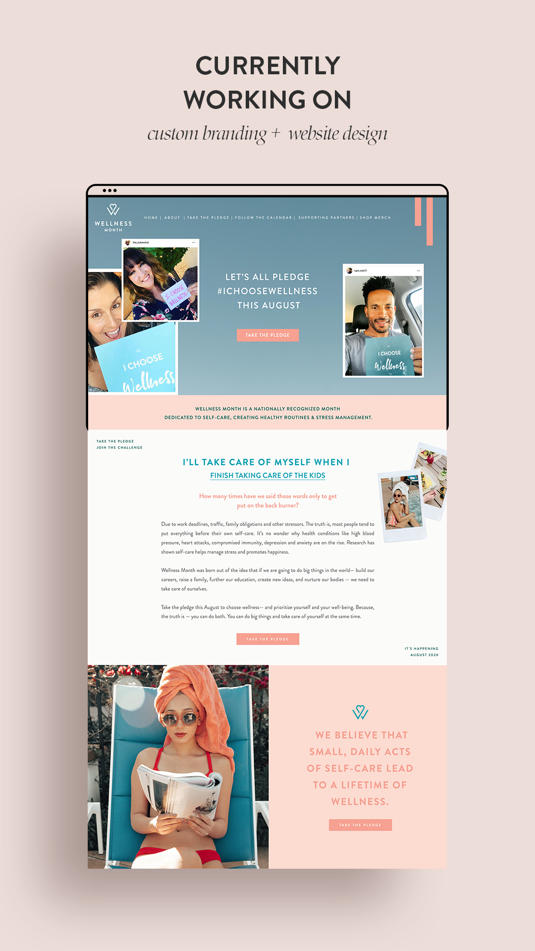 Website Design By Lindsey Eryn Of Third Story Apartment In 2020 Small Business Website Design Website Design Website Design Inspiration