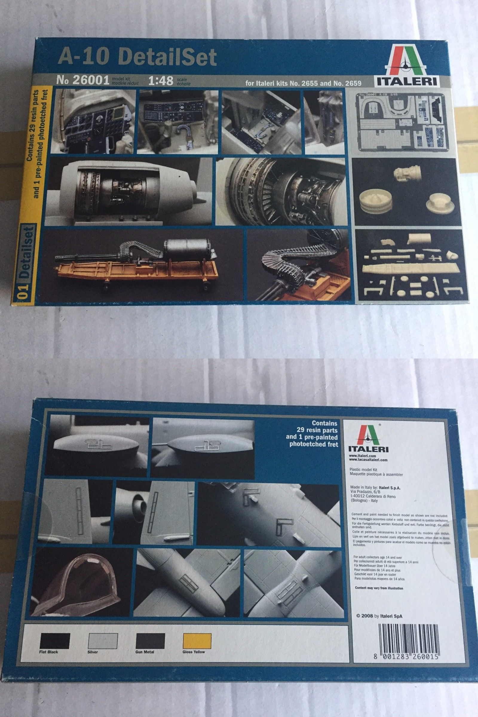 Helicopters 158748 1 48 Italeri A 10 Detail Set Buy It Now
